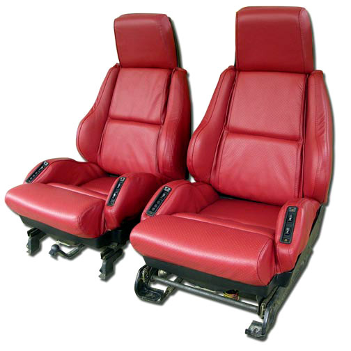 1988 Corvette Seat Cover Set Replacement Leatherette