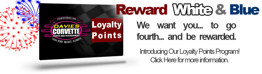 Introducing Davies Loyalty Points