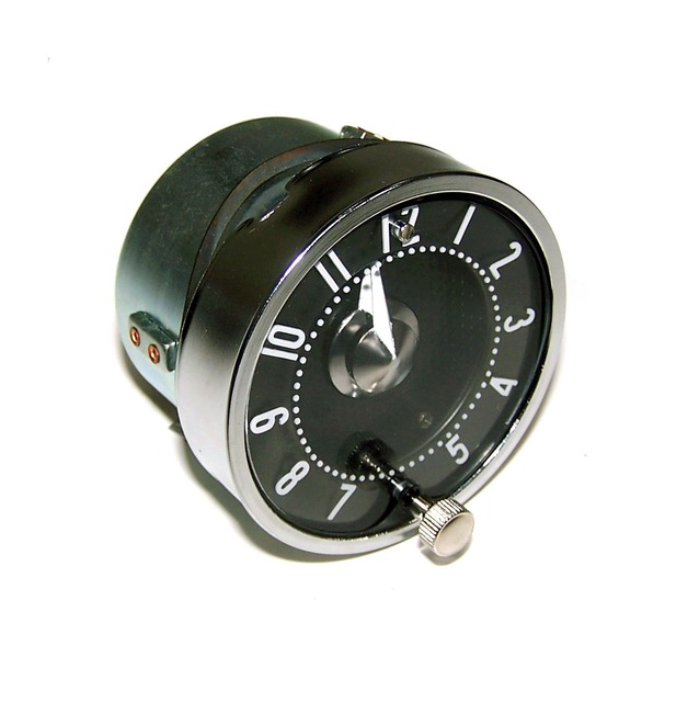 corvette clock, assembly with