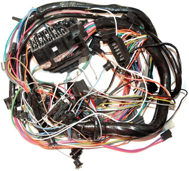1974 Corvette Wiring Harness  Main Dash  Without Factory Equipped Air Conditioning