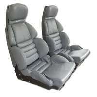 1991 - 1992 Seat Cover Set, original leather [with Sport AQ9]
