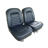 1966 Seat Cover Set, optional leather as original