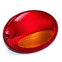 "Corvette Lamp, left rear signal / park outer ""EXPORT"" red/amber"