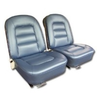 1965 Seat Cover Set, optional leather as original