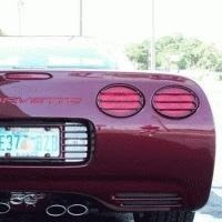 Corvette Tail Lamp Louver Set - Factory Paint Color