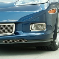 Corvette Front Driving Lamp Mesh Covers (with Z06, ZR1 & Grand Sport)