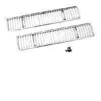 1968 - 1975 Body Accent Pair Chrome Rear Deck Grilles