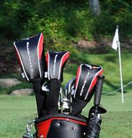 Corvette Golf Club Headcover Set with Choice of Logo