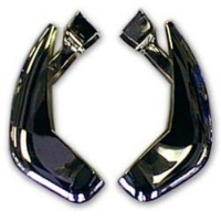 1958 - 1962 Guard, pair center front bumper