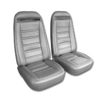 1975 Seat Cover Set, replacement leatherette (Deluxe interior)