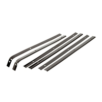 1956 - 1962 Retainer, convertible softtop side rail weatherstrip set of 6