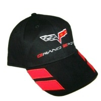 Hat, Grand Sport Corvette Cap Black