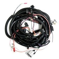 Corvette Wiring Harness, rear body (without rear speaker option)