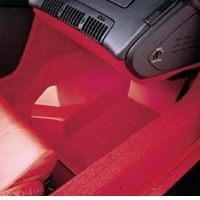 Corvette Carpet Shield, pair floor inserts with carpet