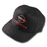 Corvette Hat, Black C4 Corvette Cap