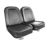 Corvette Seat Cover Set, optional leather as original