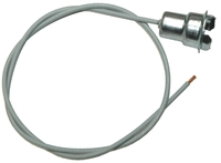 1955 - 1967 Socket, dash illumination - single wire (correct style)