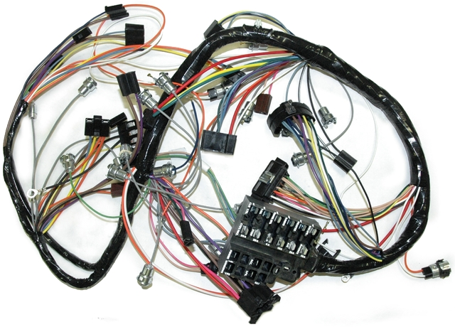 1967 Corvette Wiring Harness  Main Dash   Corvetteparts Com
