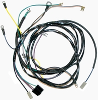 Corvette Wiring Harness, engine (automatic transmission, no fuel injection)