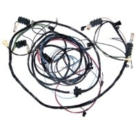 Corvette Wiring Harness, rear body with fiberoptic cables (with alarm option)