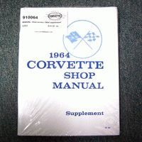 1964 Manual, shop/service (supplement to 1963 manual)