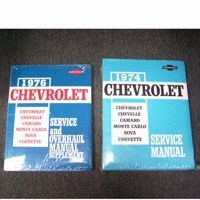 Corvette Manual, shop/service