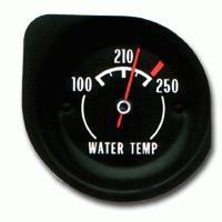 Corvette Gauge, engine coolant temperature