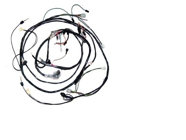 1968 corvette wiring harness  headlamp  with fiberoptic