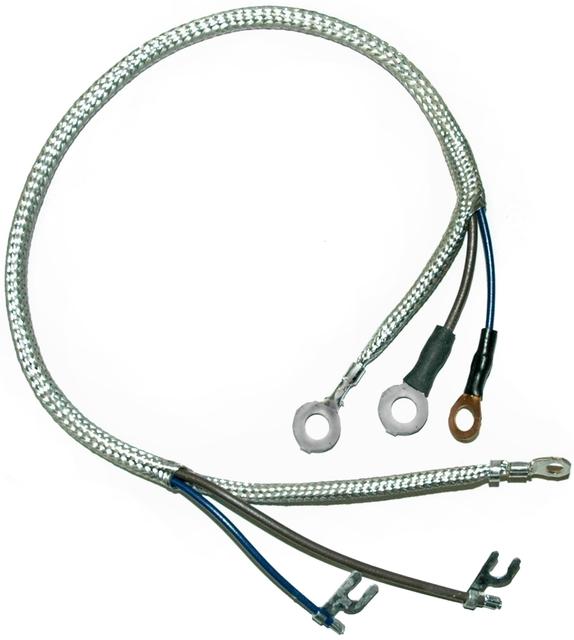 1960 1962 corvette wiring harness, voltage regulator to generator Dodge Ram Wiring Harness corvette wiring harness, voltage regulator to generator