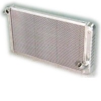 "1969 - 1972 Radiator, aluminum 27.5"" wide ""Direct Fit"" super-cool (427, & 454 engines - automatic with air conditioning)"
