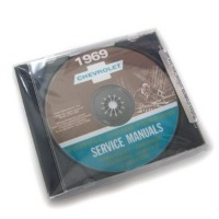 1969 CD Manual, shop / service