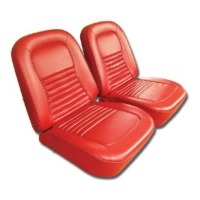 1967 Seat Cover Set, optional leather as original