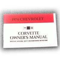 Corvette Manual, owners