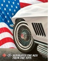 Sign, Corvette - Separates The Men From The Toys