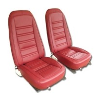 1976 Seat Cover Set, replacement leatherette (Deluxe interior)