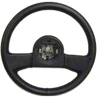 Corvette Steering Wheel, leather - reproduction