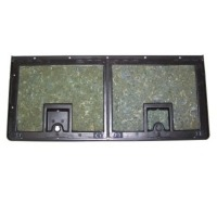 Corvette Compartment, rear storage door assembly