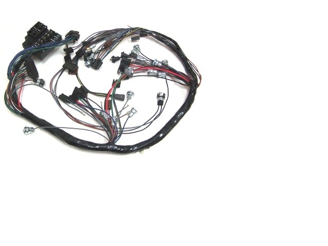 1965 corvette wiring harness  main dash  with reverse lamps   corvetteparts com