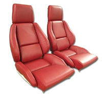 Corvette Seat Cover Set Mounted on Foam, original leather [standard]