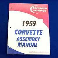 1959 Manual, assembly manual loose leaf