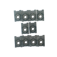 1963 - 1964 Nut Set, front grille mounting (10 piece set)