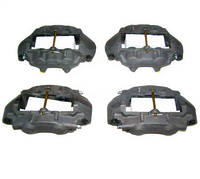 "Corvette Brake Caliper Set, stainless steel sleeved ""O"" Ring style (upgraded replacement)"