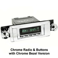 Corvette RetroSound Hermosa Direct Fit AM/FM Radio with auxiliary inputs, USB, & Bluetooth®