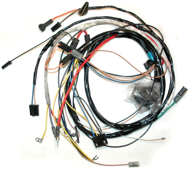 1973 Corvette Wiring Harness, 350 engine (manual ...