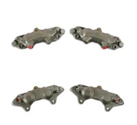 "1965 - 1982 Brake Caliper Set, stainless steel sleeved ""O"" Ring style (upgraded replacement)"