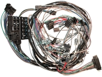 Corvette Wiring Harness, main dash  (without reverse lamps)