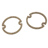 1956 - 1957 Gasket, pair taillamp lens (cork as original)
