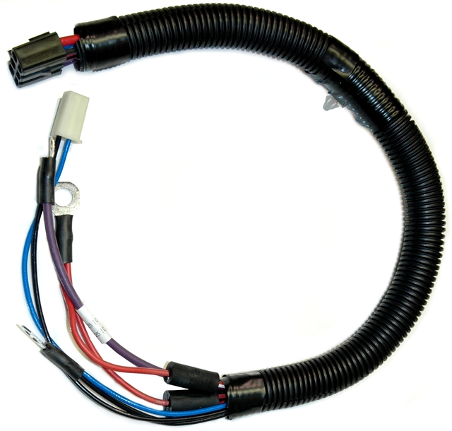 1982 Corvette Wiring Harness  Starter Extension