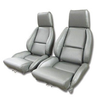 1984 - 1988 Seat Cover Set Mounted on Foam, replacement leatherette [standard]