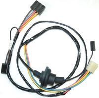 Corvette Wiring Harness, heater (without factory equipped air conditioning)